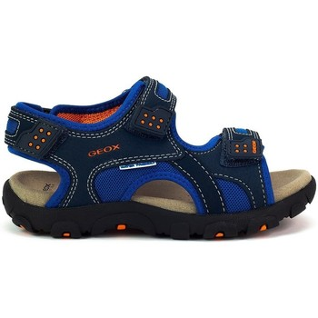 Shoes Boy Sandals Geox JR Strada Navy blue