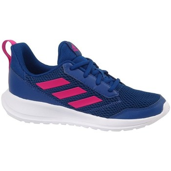 Shoes Boy Low top trainers adidas Originals Altarun K Navy blue,Pink