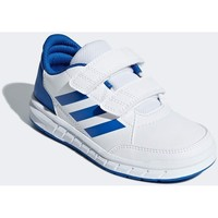 Shoes Boy Low top trainers adidas Originals Altasport CF K White,Blue