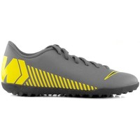 Shoes Children Football shoes Nike Mercurial Vapor Club TF JR Grey, Yellow