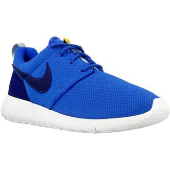 Shoes Children Low top trainers Nike Roshe One GS Blue,Navy blue