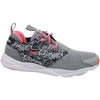 Shoes Women Low top trainers Reebok Sport Furylite Graphic Black,Grey