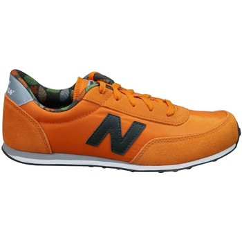 Shoes Children Low top trainers New Balance 410 Orange, Brown