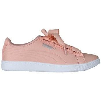Shoes Women Low top trainers Puma Vikky V2 Ribbon White, Pink