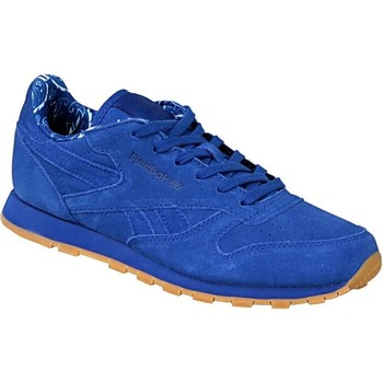 Shoes Children Low top trainers Reebok Sport Classic Leather Tdc Blue
