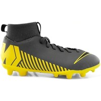 Shoes Children Football shoes Nike Mercurial Superfly Club Fgmg JR Grey, Yellow
