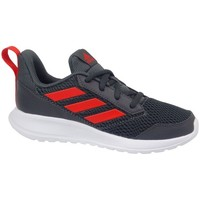 Shoes Boy Low top trainers adidas Originals Altarun K White, Black, Red