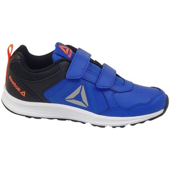 Shoes Boy Low top trainers Reebok Sport Almotion 40 Black,Blue