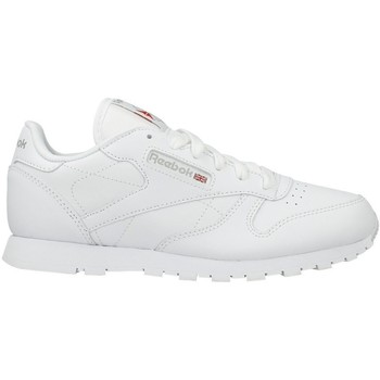Shoes Children Low top trainers Reebok Sport CLASSIC LEATHER W White
