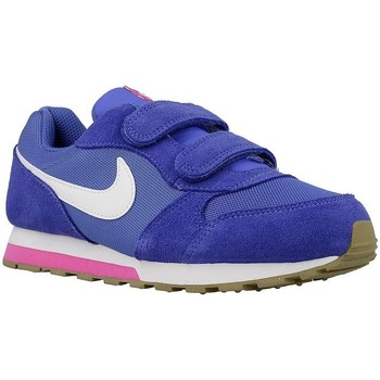 Shoes Children Low top trainers Nike MD Runner 2 Psv White, Blue