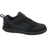 Shoes Children Low top trainers Nike Court Borough Low Psv Black