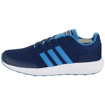 Shoes Boy Low top trainers adidas Originals Cloudfoam Race K Black