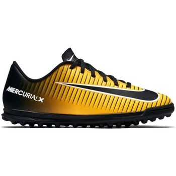 Shoes Children Football shoes Nike Junior Mercurial X Vortex 3 TF Black,Yellow