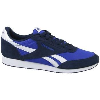 Shoes Men Low top trainers Reebok Sport Royal CL Jogger 2 Black,Blue