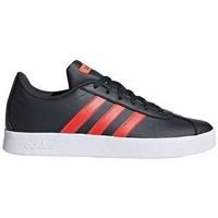 Shoes Children Low top trainers adidas Originals VL Court 20 K Black,Orange