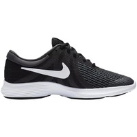 Shoes Children Low top trainers Nike Revolution 4 Running Shoe Black Black