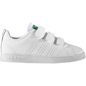 Shoes Children Low top trainers adidas Originals VS Advantage Clean Cmf C White