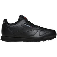 Shoes Children Low top trainers Reebok Sport Classic Leather Black