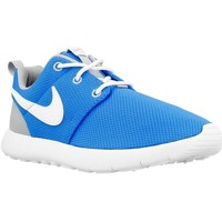 Shoes Children Low top trainers Nike Roshe One PS White,Grey,Blue