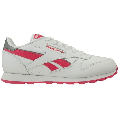 Shoes Children Low top trainers Reebok Sport CL Leather Reflect