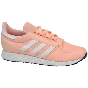 Shoes Children Low top trainers adidas Originals Forest Grove J Pink