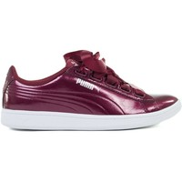 Shoes Women Low top trainers Puma Vikky Ribbon P Burgundy