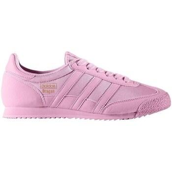 Shoes Children Low top trainers adidas Originals Dragon OG J Pink