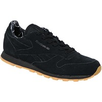 Shoes Children Low top trainers Reebok Sport Classic Leather Tdc Black