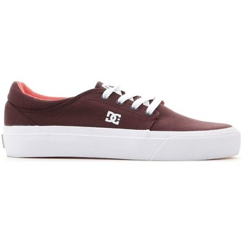 Shoes Women Low top trainers DC Shoes Trase TX Brown