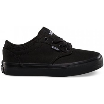 Shoes Children Low top trainers Vans Y Atwood Canvas Black Black
