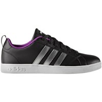 Shoes Women Low top trainers adidas Originals Advantage VS W Black, Silver
