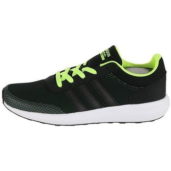 Shoes Children Low top trainers adidas Originals Cloudfoam Race K Black