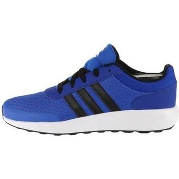 Shoes Boy Low top trainers adidas Originals CF Race K Blue