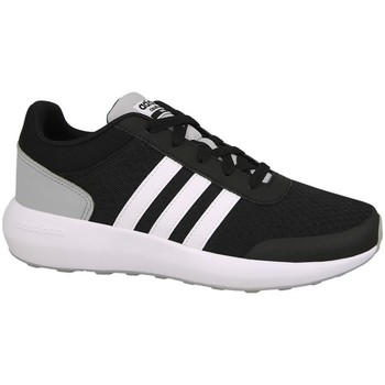 Shoes Children Running shoes adidas Originals Cblackftwwhtnix Cloudfoam Race White, Black, Grey