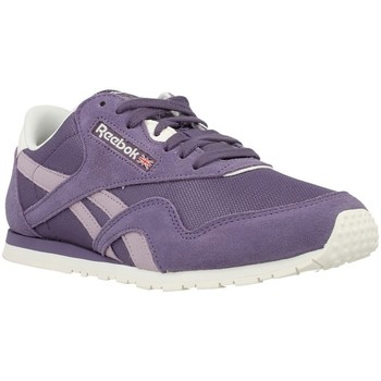 Shoes Women Low top trainers Reebok Sport CL Nylon Violet