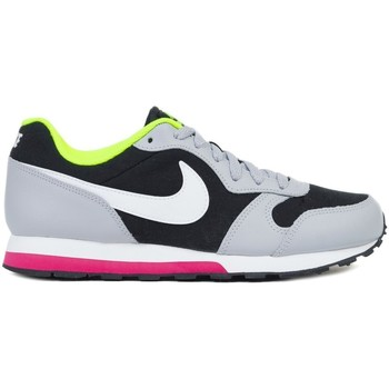 Shoes Girl Running shoes Nike MD Runner 2 GS Black,Grey