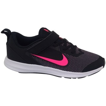 Shoes Girl Low top trainers Nike Downshifter 9 Psv Black