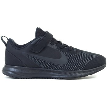 Shoes Children Low top trainers Nike Downshifter 9 Psv Black