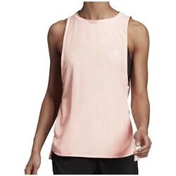 Clothing Women Tops / Sleeveless T-shirts adidas Originals 257 Tank W Pink