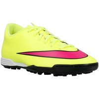 Shoes Men Football shoes Nike Mercurial Vortex II TF Pink, Celadon