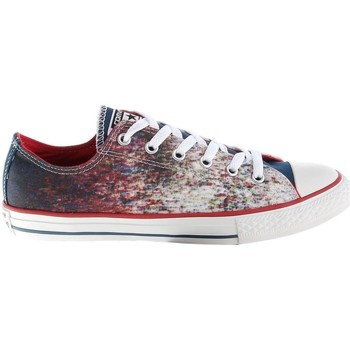 Shoes Children Low top trainers Converse Chuck Taylor All Star CT OX White,Red,Navy blue