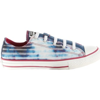 Shoes Children Low top trainers Converse Chuck Taylor All Star CT Strch White,Blue,Light blue
