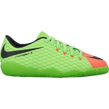 Shoes Children Football shoes Nike JR Hypervenomx Phelon Iii IC Red,Green