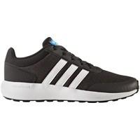 Shoes Children Low top trainers adidas Originals Utiblkftwwhtcblack CF Race K Utib Graphite