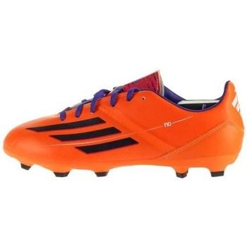 Shoes Children Football shoes adidas Originals F10 Trx FG J Black, Orange