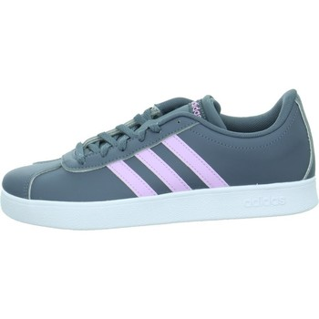 Shoes Children Low top trainers adidas Originals VL Court 20 Grey