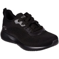 Shoes Women Low top trainers Skechers Bobs Squad Tough Black