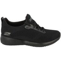 Shoes Women Low top trainers Skechers Bobs Squad Black