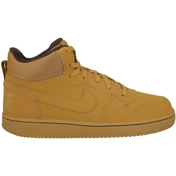 Shoes Children Hi top trainers Nike Court Borough Mid GS Brown