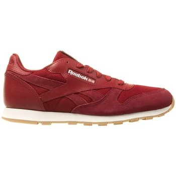 Shoes Children Low top trainers Reebok Sport CL Leather Estl Red